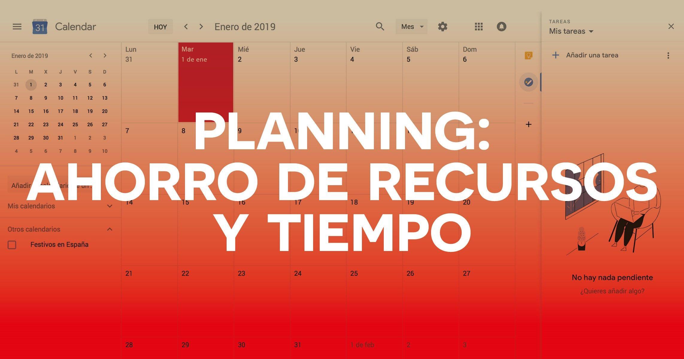 Planning de recursos