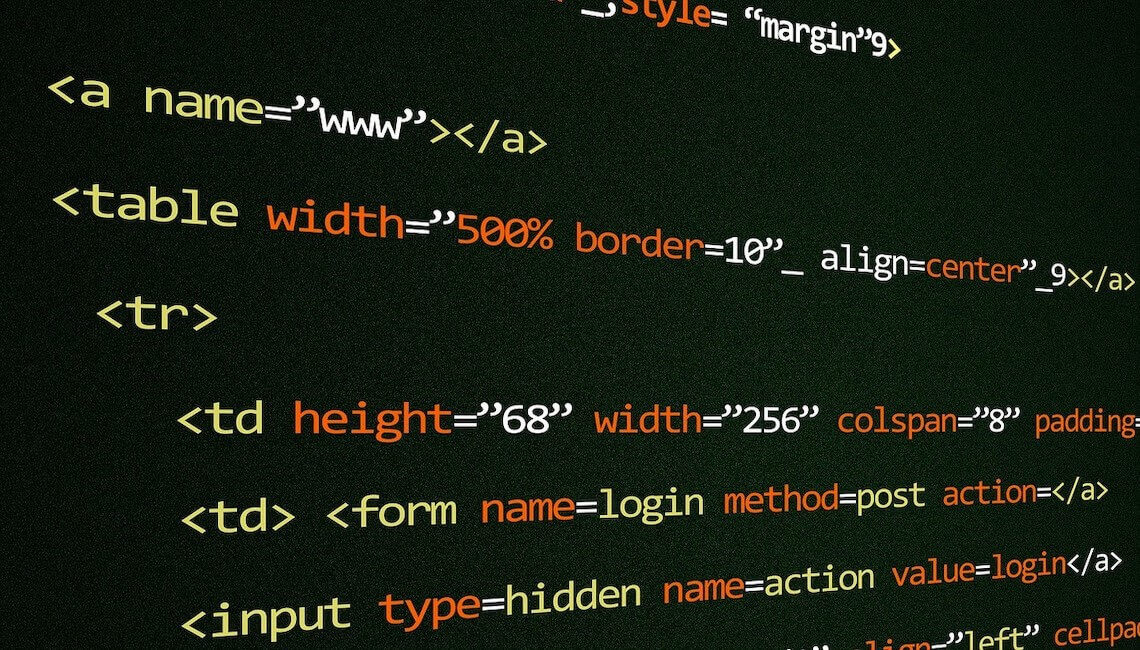 diseño de web html