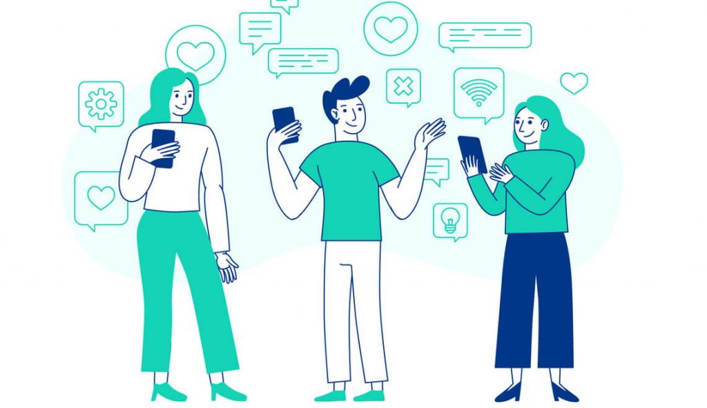 interaccion-usuarios-redes