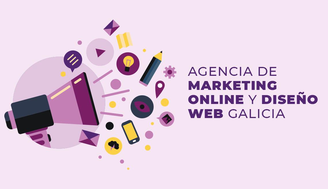 Agencia de Diseño Web en Galicia y marketing online