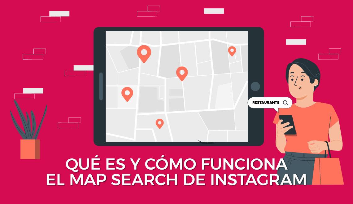 Map Search de Instagram
